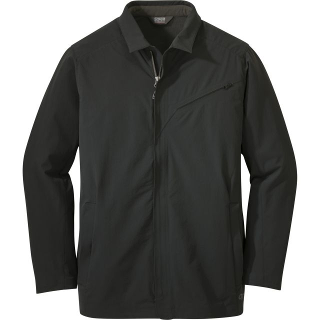photo: Outdoor Research Prologue Travel Jacket soft shell jacket