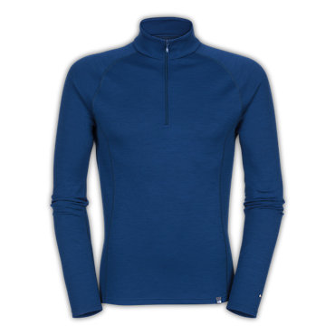 photo: The North Face Men's Warm Merino Zip Neck base layer top
