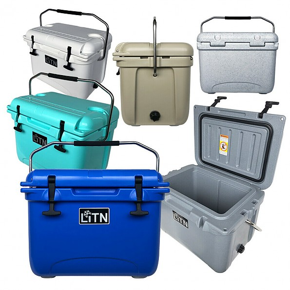 LITN 20QT Ice Chest Box RotoMolded Cooler