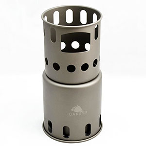 photo: Toaks Titanium Backpacking Wood Burning Stove (small) solid fuel stove