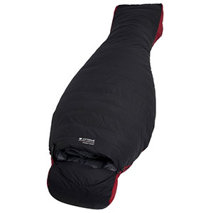 photo:   Mountain Warehouse Everest Down Sleeping Bag cold weather down sleeping bag