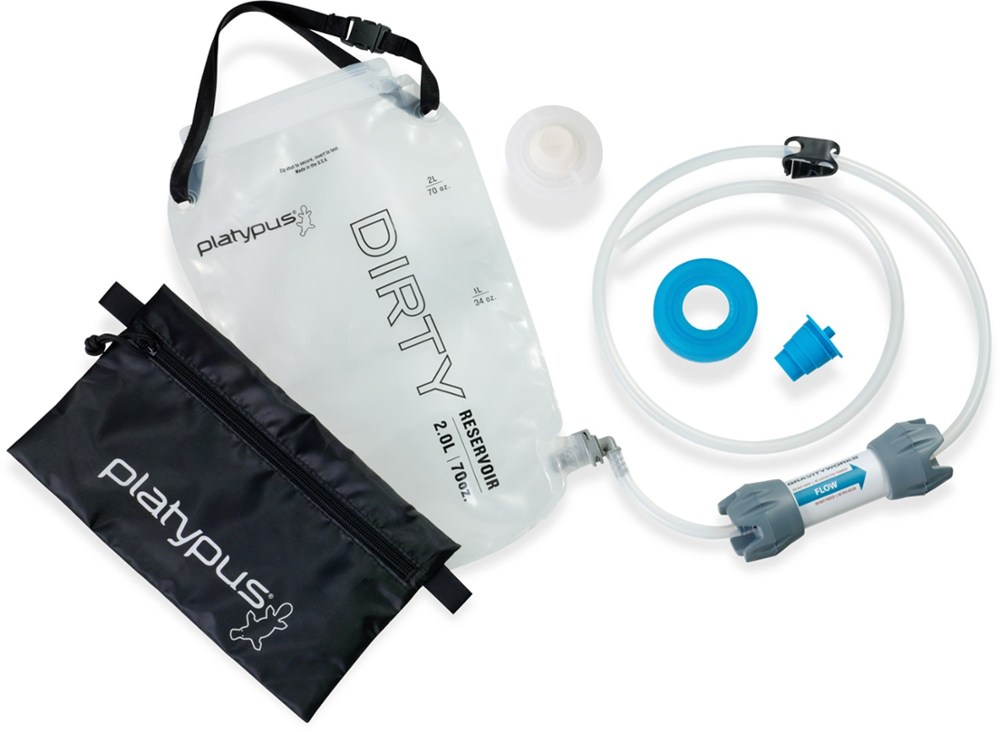 Pump and Gravity Water Filters