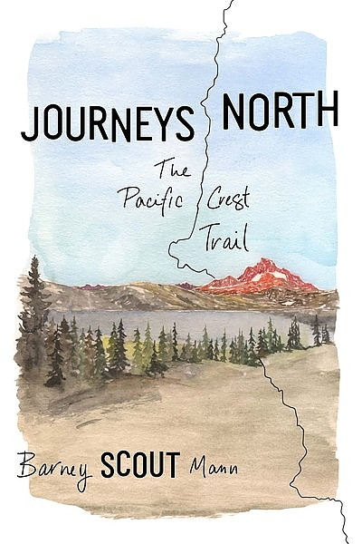 photo: The Mountaineers Books Journeys North: The Pacific Crest Trail us pacific states guidebook