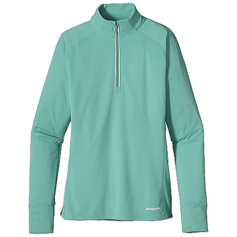 photo: Patagonia Women's Fore Runner 1/4-Zip long sleeve performance top