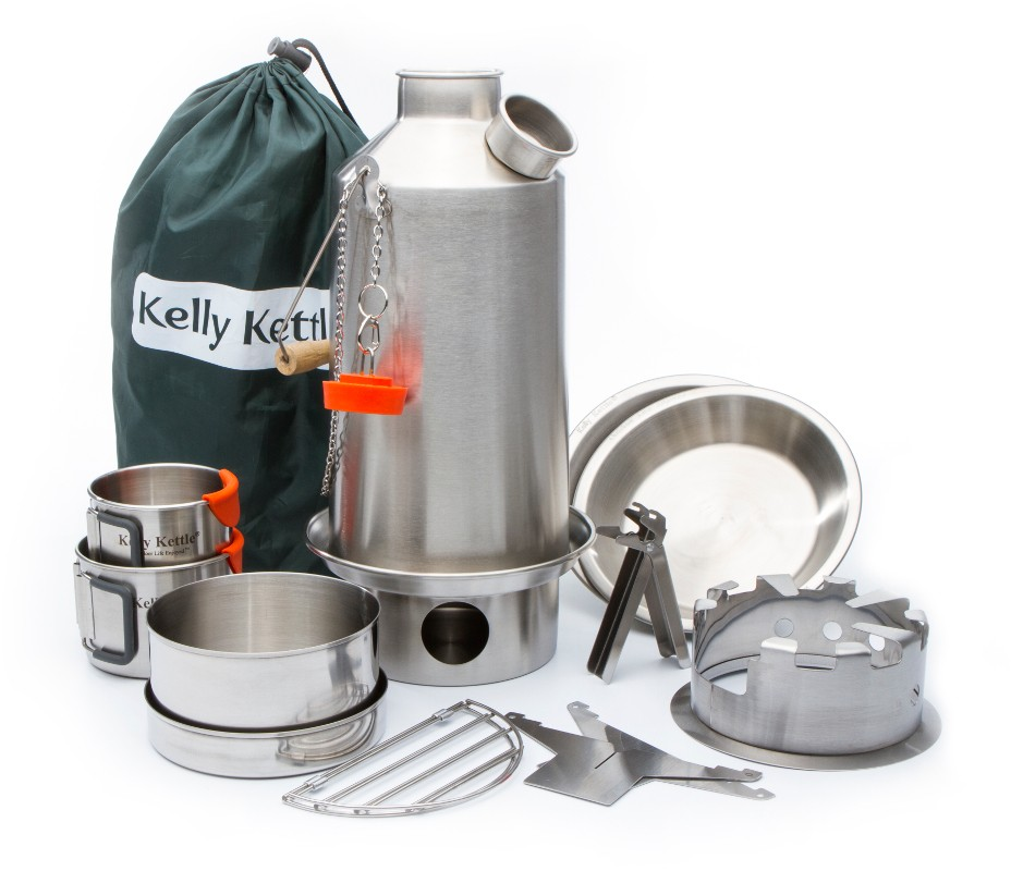 Kelly Kettle Ultimate Stainless Base Camp Kit