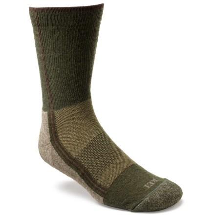 photo: REI Hybrid Light Hiking Crew Sock with PrimaLoft Fiber hiking/backpacking sock
