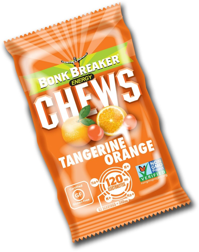 photo: Bonk Breaker Energy Chews gel/chew