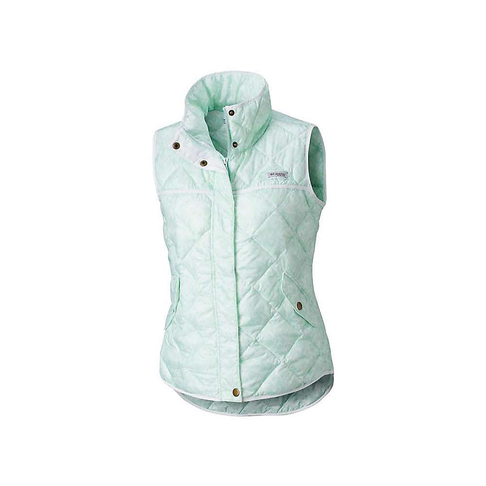 photo: Columbia Harborside Diamond Quilted Vest synthetic insulated vest
