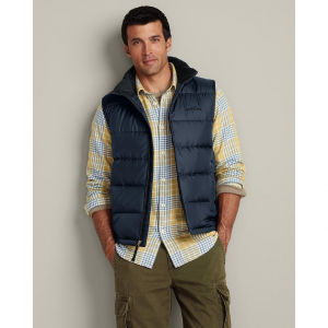 photo: Eddie Bauer Classic Down Vest down insulated vest