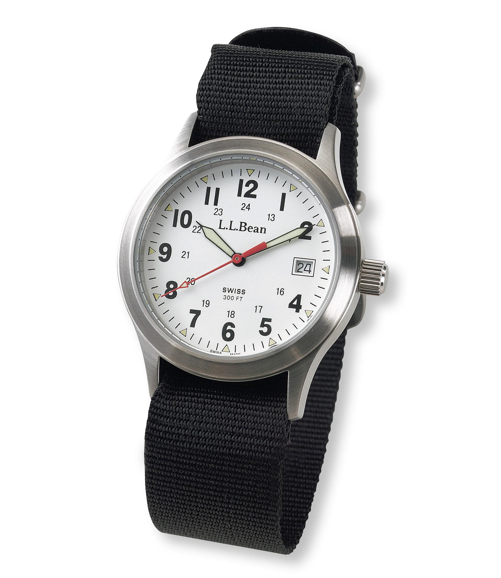 photo: L.L.Bean Vintage Field Watch analog watch