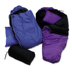 photo: Molehill Sleeping Bag 3-season synthetic sleeping bag