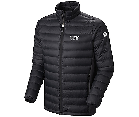 photo: Mountain Hardwear Men's Nitrous Hybrid Jacket down insulated jacket