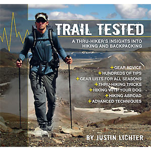 photo of a Justin Lichter camping/hiking/backpacking book