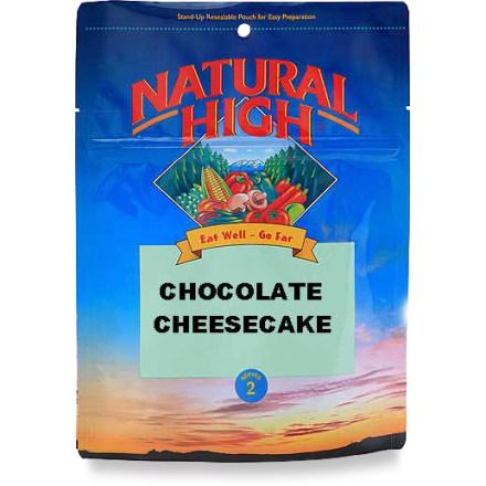 photo: Natural High Chocolate Cheesecake dessert