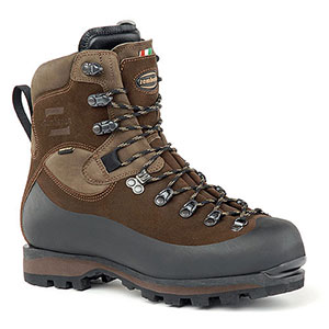 photo of a Zamberlan mountaineering boot