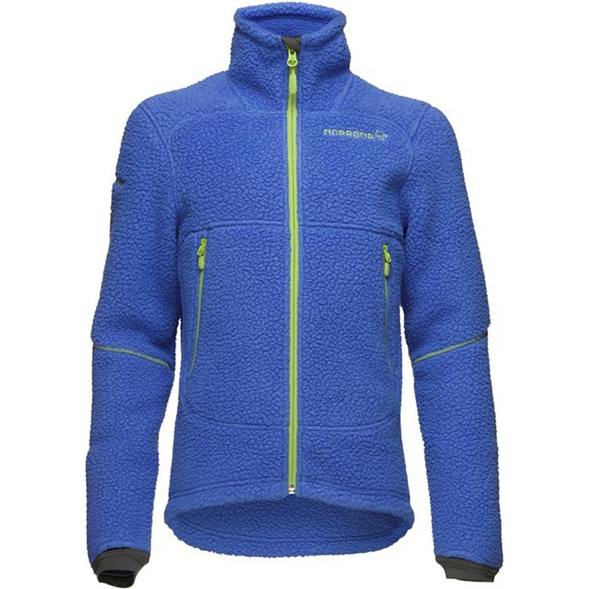 photo: Norrona Boys' Trollveggen Warm2 Jacket fleece jacket