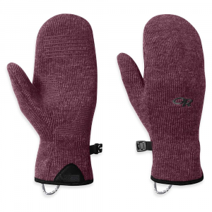 photo: Outdoor Research Flurry Mitts fleece glove/mitten