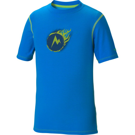 photo: Marmot Cosmic Tee short sleeve performance top