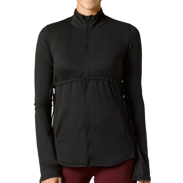 photo: prAna Luella Jacket fleece top