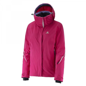 photo: Salomon Women's Brilliant Jacket synthetic insulated jacket