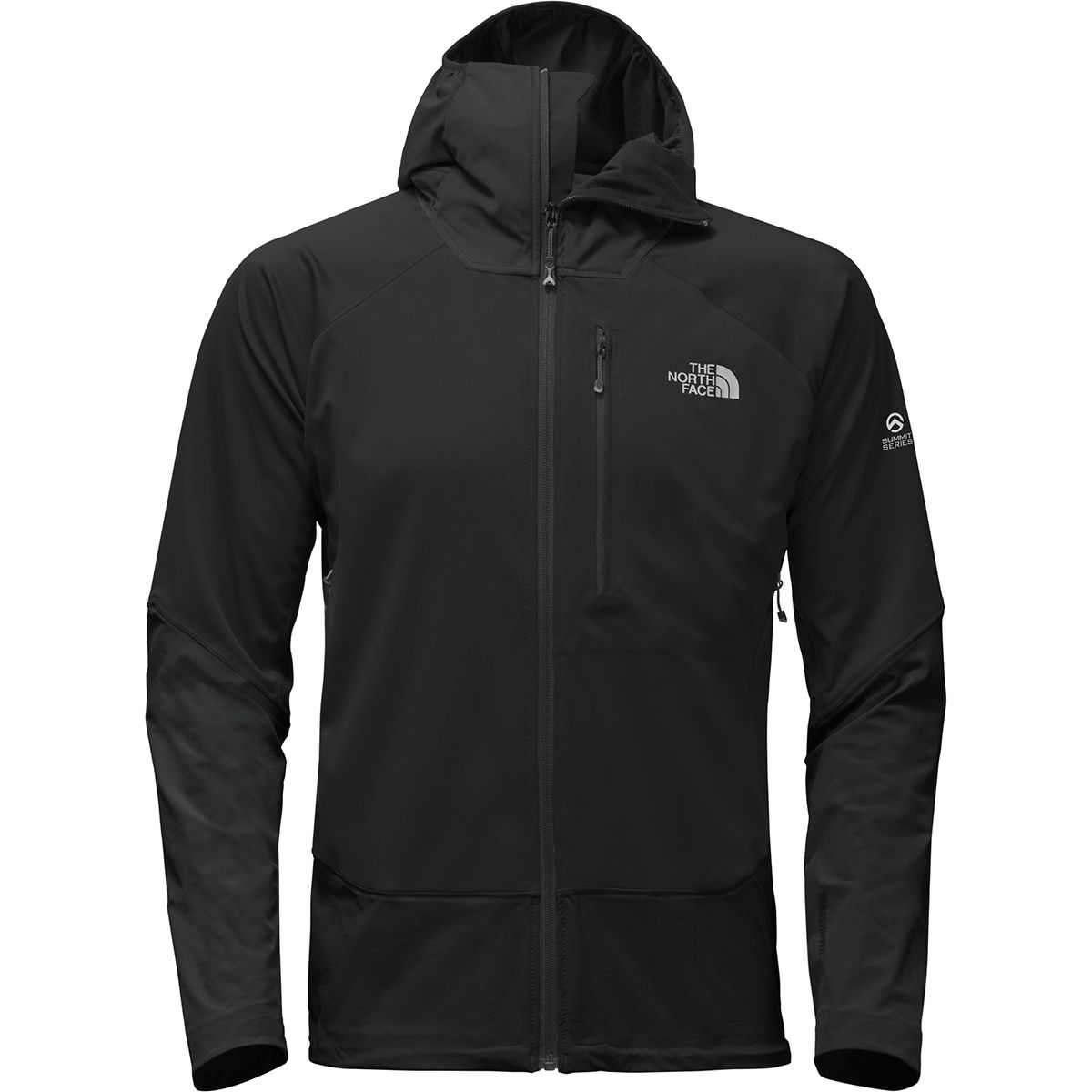 photo: The North Face Summit L4 Windstopper Softshell Hoodie soft shell jacket