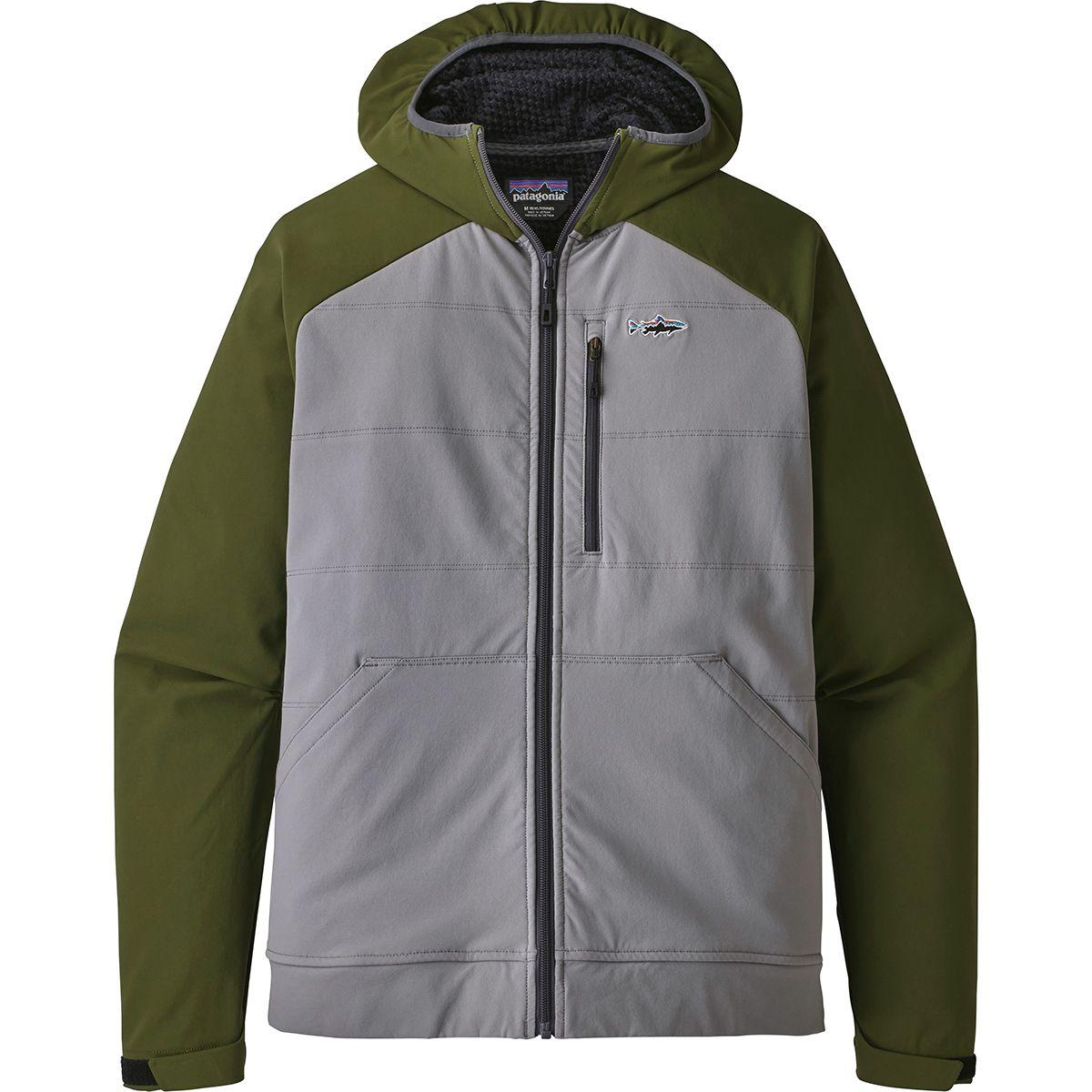 photo: Patagonia Snap-Dry Hoody fleece jacket