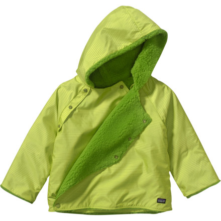 photo: Patagonia Baby Reversible Snap Jacket fleece jacket