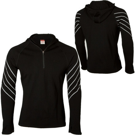 photo: Icebreaker Men's Sport 320 LTD Powder Hood long sleeve performance top