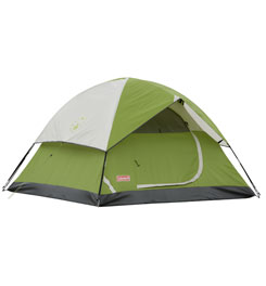 photo: Coleman Sundome 3 7'x7' three-season tent