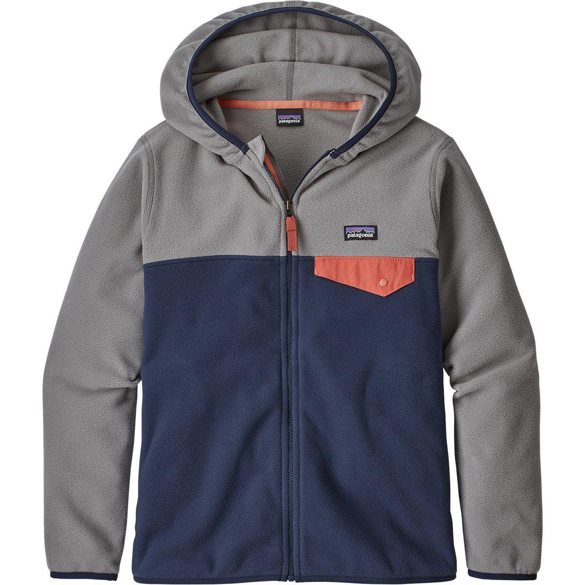 photo: Patagonia Micro D Snap-T Jacket fleece jacket