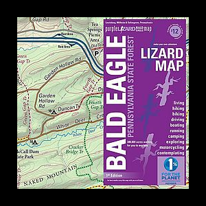 Purple Lizard Maps Bald Eagle State Forest Map