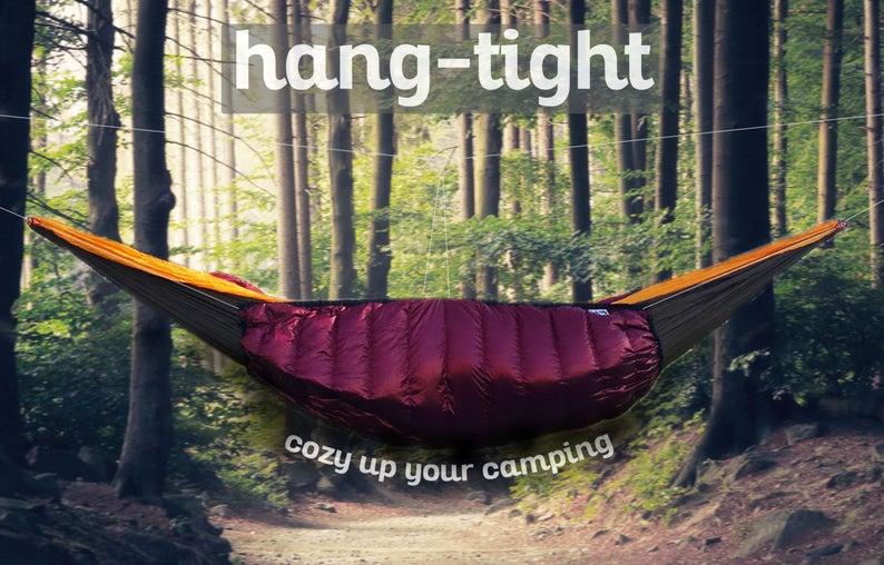 Hang Tight HeatSeeker Design Hammock Top Quilt