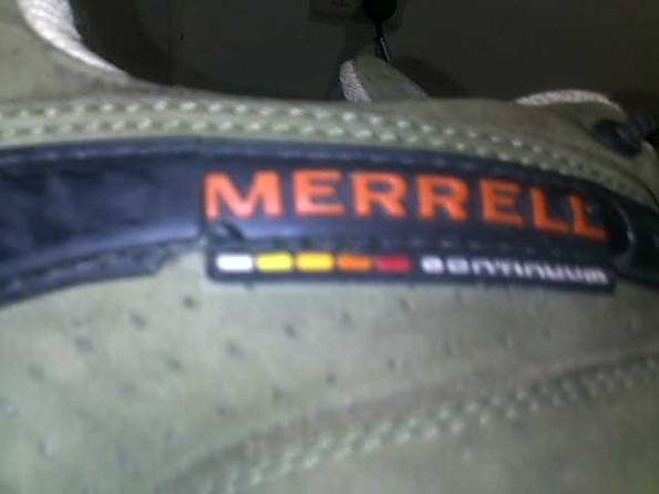 merrell continuum vibram hiking shoes white