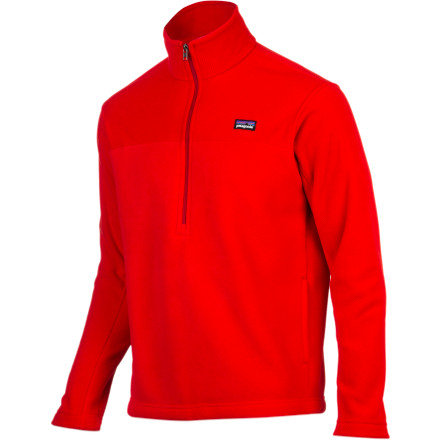 photo: Patagonia Men's Synchilla Marsupial fleece top