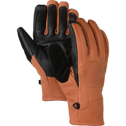 photo: Burton AK Leather Tech Gloves insulated glove/mitten