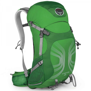 photo: Osprey Stratos 26 daypack (under 2,000 cu in)