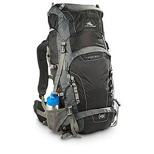 photo: High Sierra Tangent 45 overnight pack (35-49l)