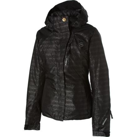 photo: Rossignol Desire Lurex Jacket snowsport jacket