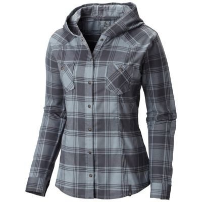 Mountain Hardwear Stretchstone Flannel Hooded Shirt