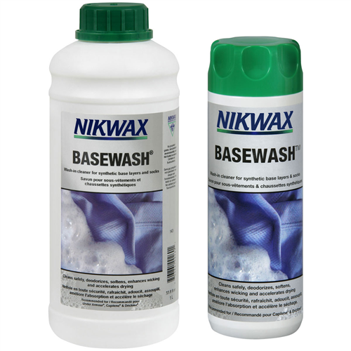 photo: Nikwax BaseWash fabric cleaner/treatment