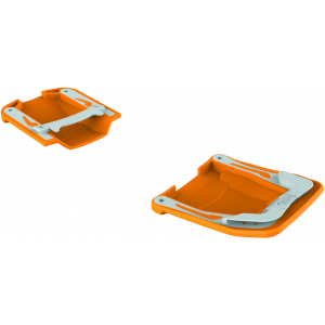 photo: Petzl Irvis Anti Snow Plates crampon accessory