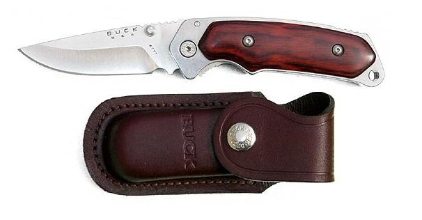Buck Alpha Hunter Rosewood