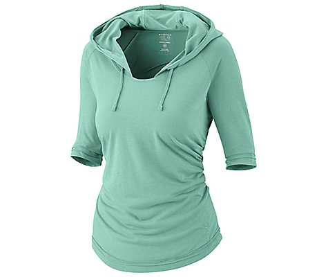 photo: Mountain Hardwear Pandra Elbow Slv Hoody fleece top