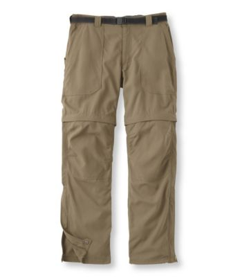 L.L.Bean Timberledge Zip-Off Pants