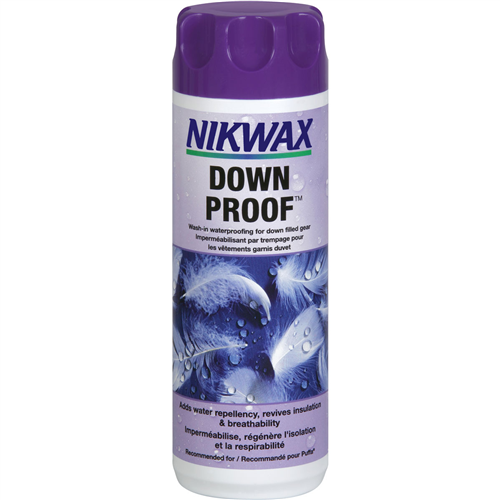 photo: Nikwax Down Proof down cleaner/treatment