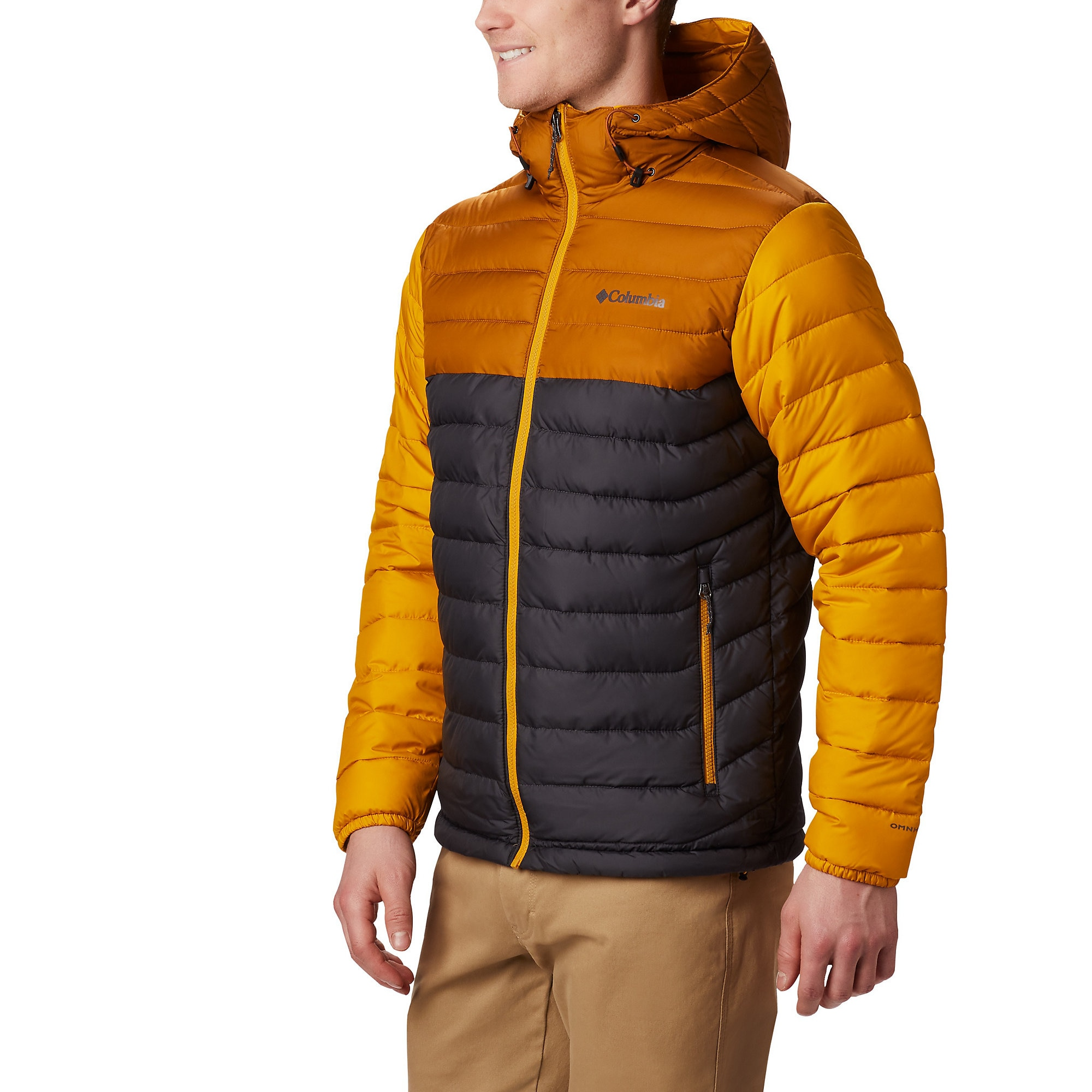 photo: Columbia Men's Powder Lite Hooded Jacket synthetic insulated jacket