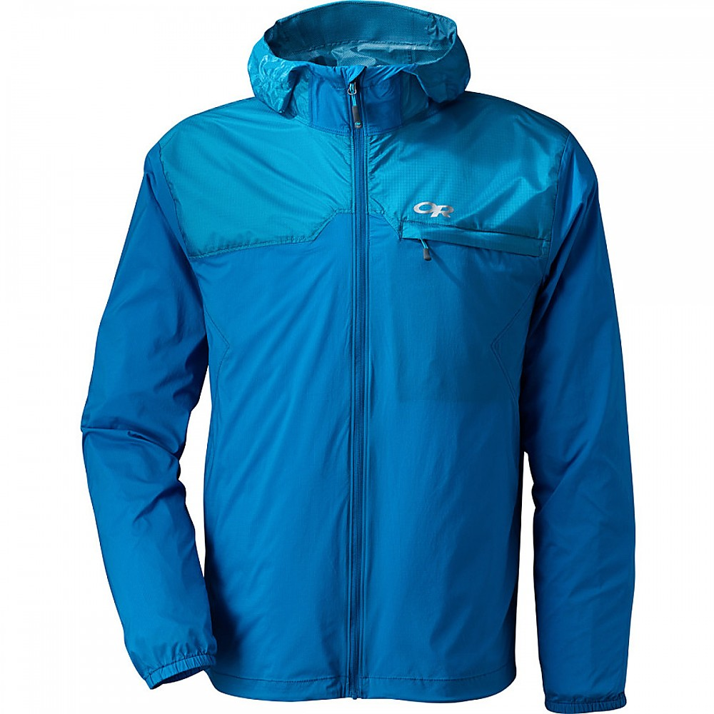 photo: Outdoor Research Helium Hybrid Jacket soft shell jacket
