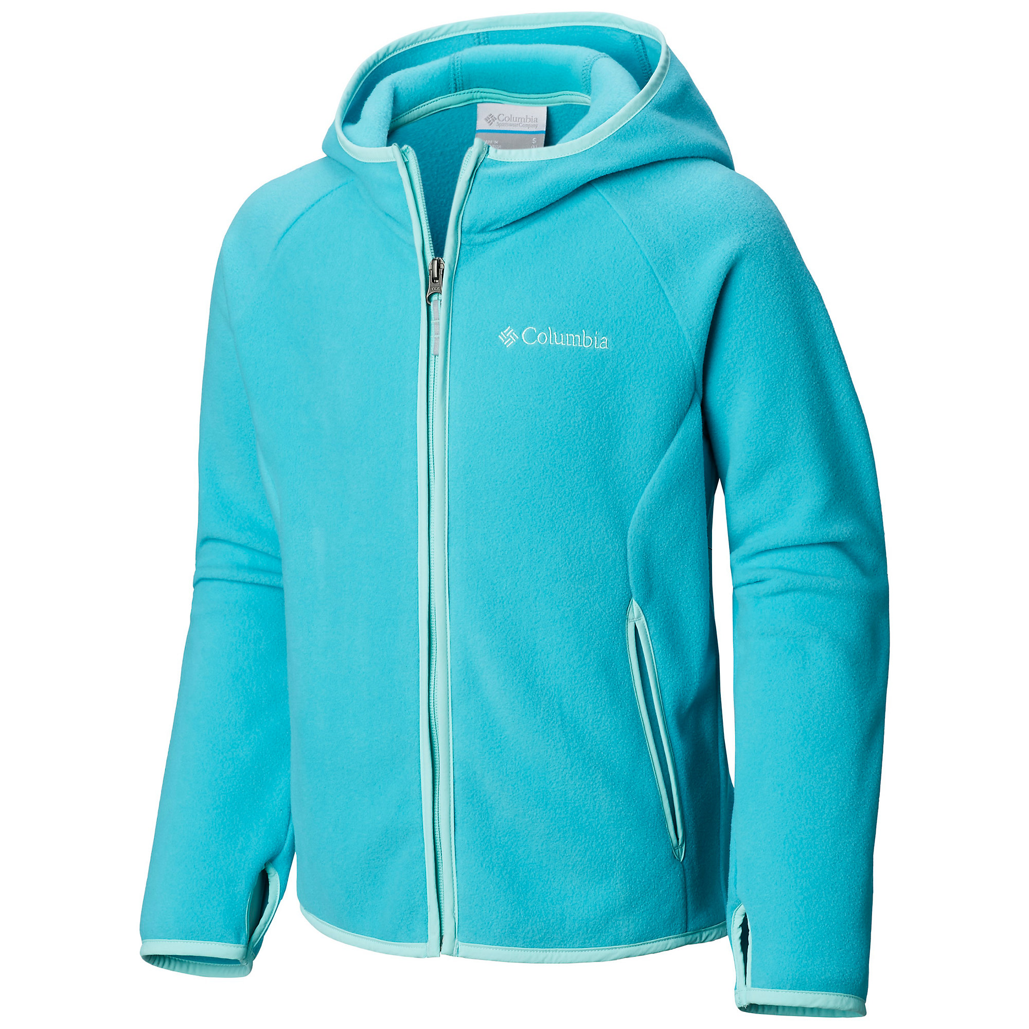photo: Columbia Kids' Fast Trek Hoodie fleece jacket