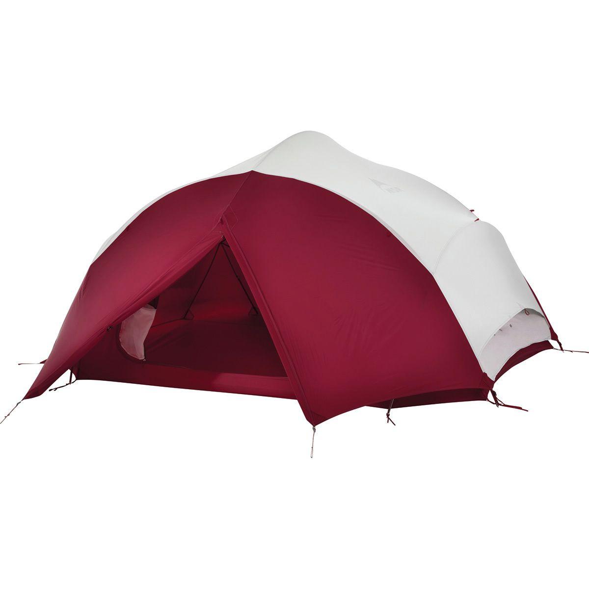 photo: MSR Papa Hubba NX 4P three-season tent