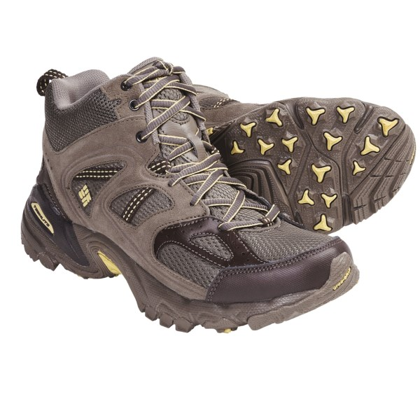 photo: Columbia Women's Wallawalla 2 Mid Omni-Tech hiking boot